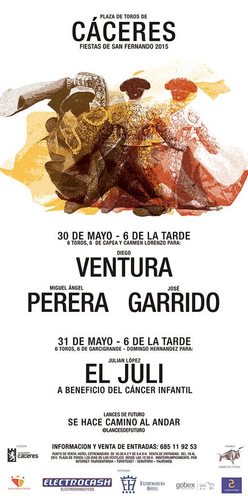 Feria taurina de Cáceres