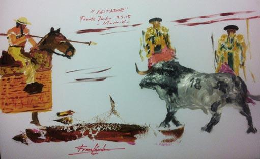 Dibujo interior de Fran Sánchez del 9 de mayo