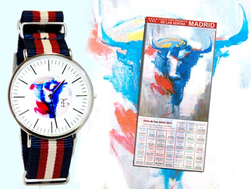 Imagen interior del reloj de Troshopping inspirado en San Isidro