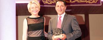 NOTICIAS Recogió el premio César Rincón