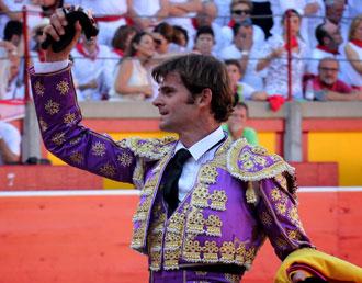 PAMPLONA Del primer toro de Conde de la Maza