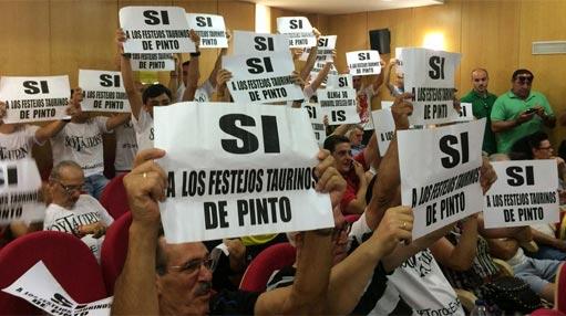 Pinto si toros Ayuntamiento pleno 511