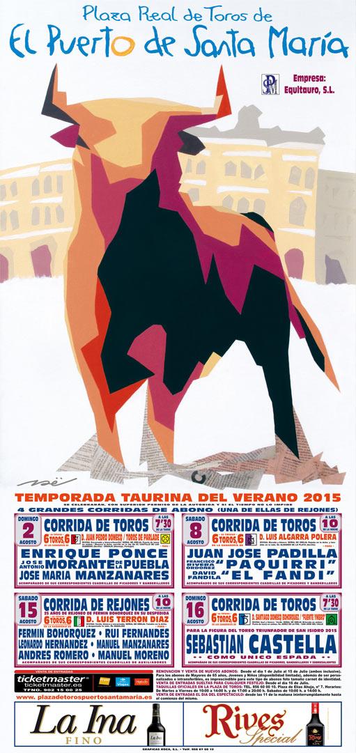 Toros en El Puerto