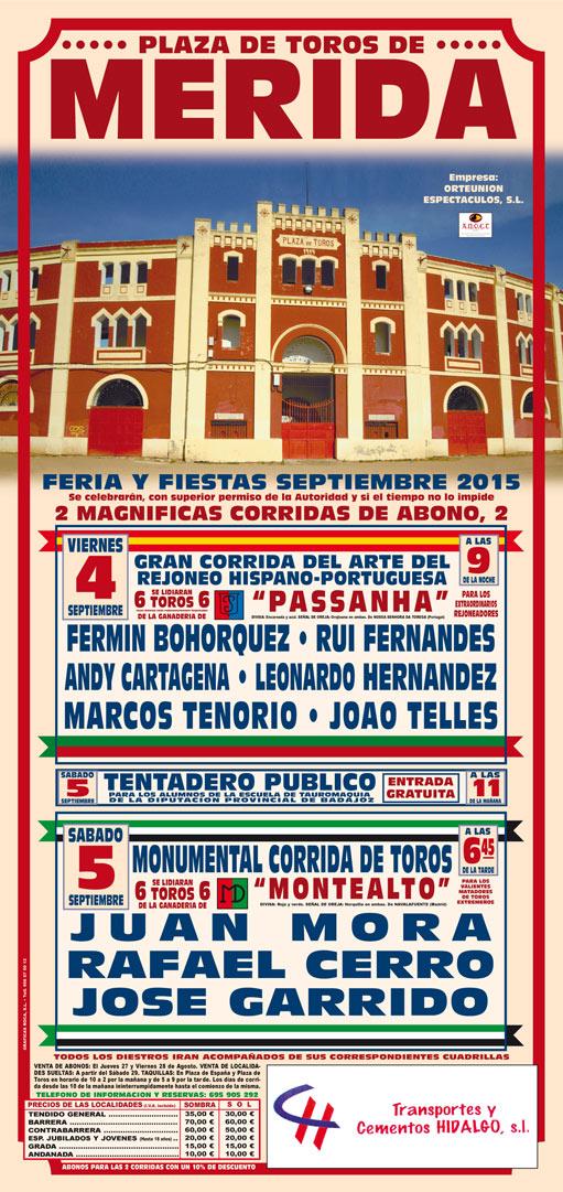 Toros en Mérida 2015