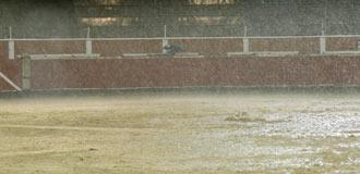 SAN SEBASTIÁN DE LOS REYES Suspensión por lluvia