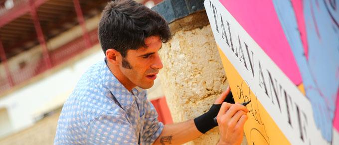 ENTREVISTA Alejandro Talavante presenta su encerrona en la Corrida Picassiana de Málaga