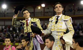CIUDAD REAL Tendero y Huertas, en hombros
