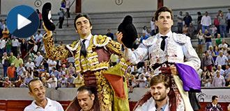 DON BENITO Perera y Garrido, en hombros
