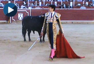 VÍDEO de la tarde de López Simón en Albacete