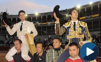 SALAMANCA Del Álamo y Castella, en hombros