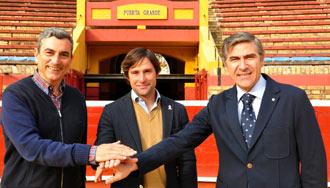 APODERAMIENTOS Junto con Óscar Polo y Carlos Pereda