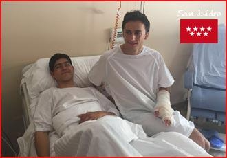 FOTONOTICIA Filiberto y Adame, en el hospital