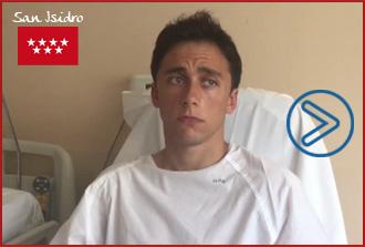 VÍDEO Filiberto, tras ser herido ayer en Las Ventas