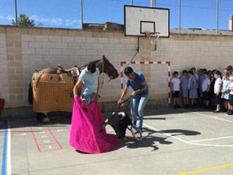 FOTOS Novedosa iniciativa en dos centros escolares
