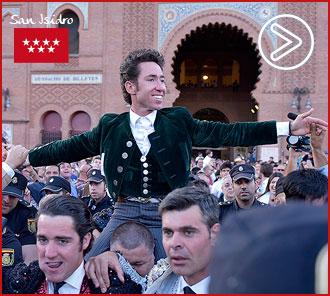 MADRID Leonardo, de nuevo en hombros