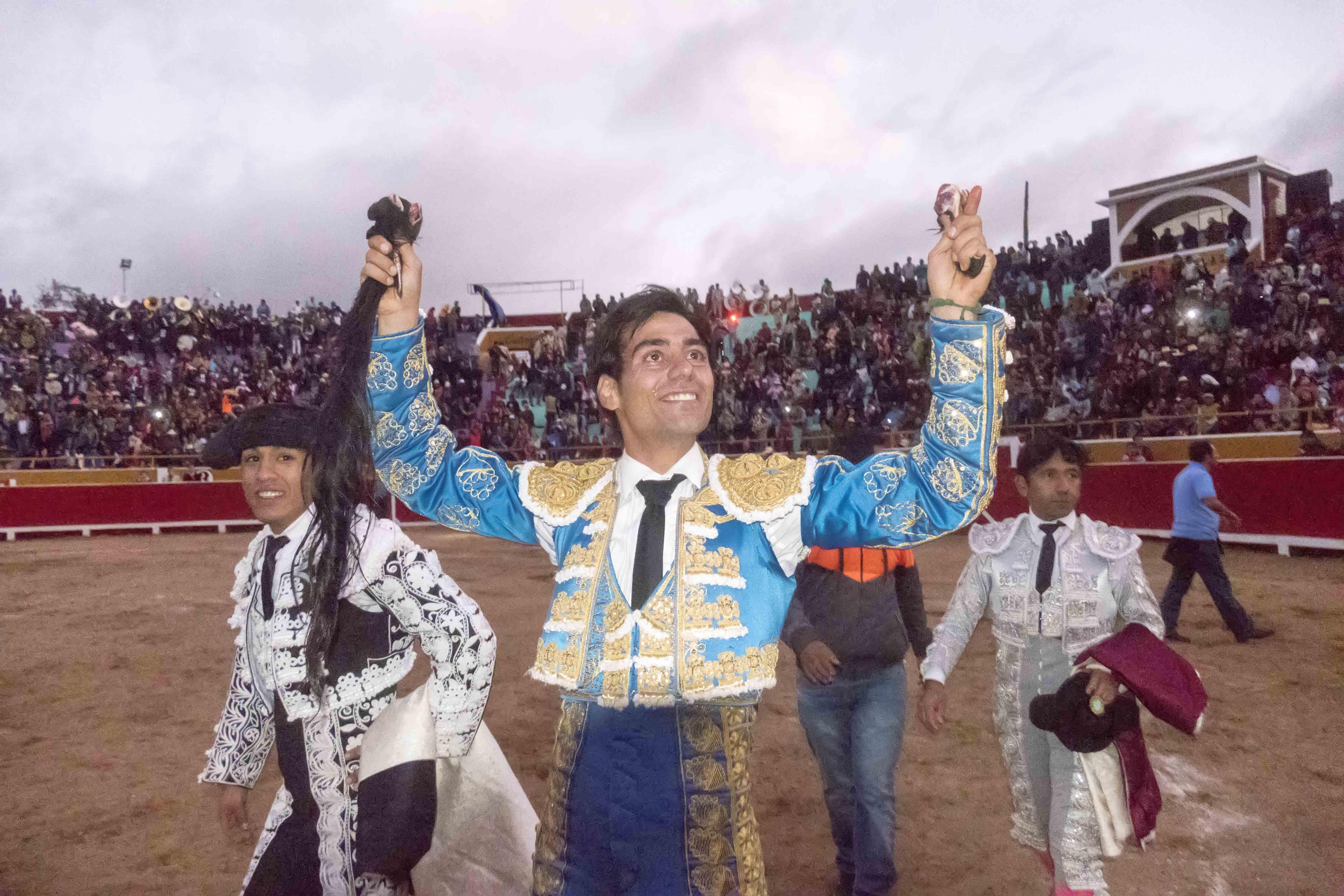 CUTERVO Destacado éxito del torero madrileño