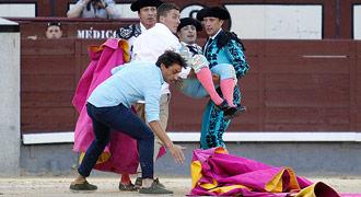 HERIDOS Fue corneado el domingo en Madrid