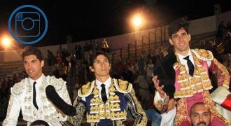 TORREJÓN Castella, Cayetano y Simón, en hombros