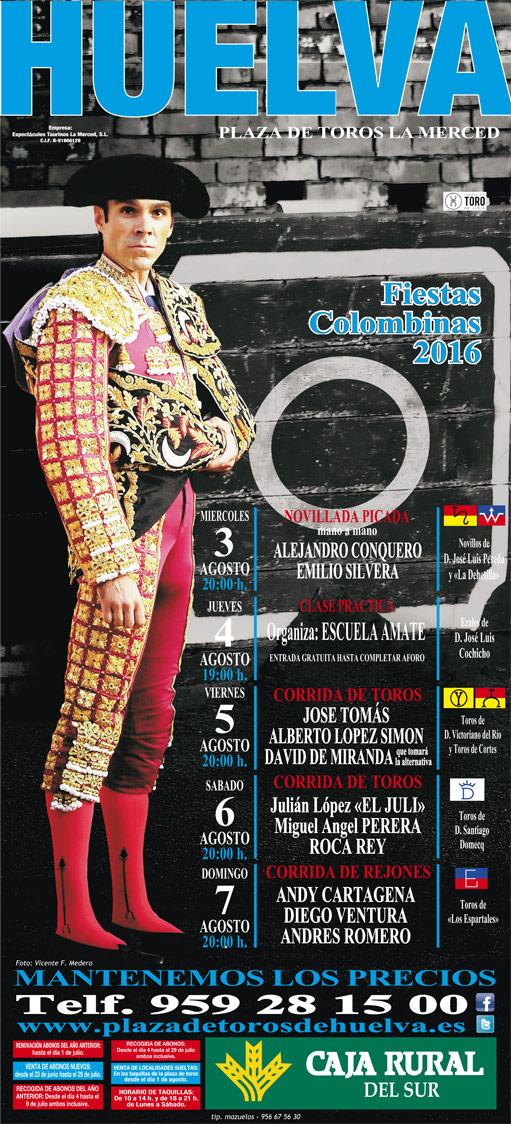 cartel Huelva 2016