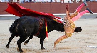 HERIDOS Fue cogido el domingo 24 en Las Ventas