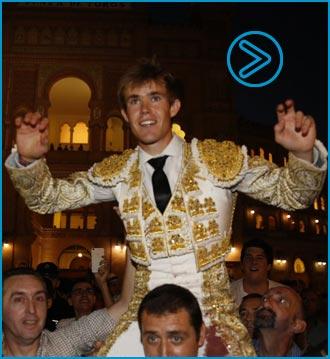 MADRID El confirmante Emilio Huertas dio una vuelta al ruedo