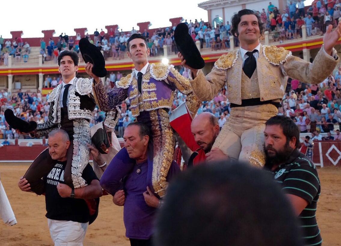 CUENCA Buena corrida de Zalduendo