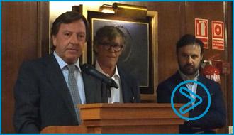 VIDEO Curro Vázquez, en la presentación de la UTE
