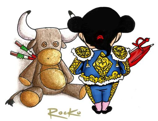dibujo-rocko-torero-peluche-511