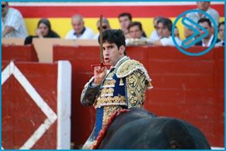 PALENCIA López Simón puntuó tras cogida a Roca Rey