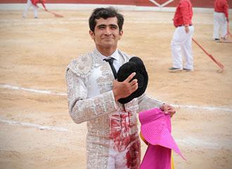 MÉRIDA Complicada corrida de Fernando de la Mora