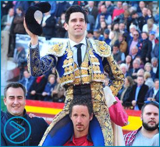 CASTELLÓN López Simón, por la Puerta Grande