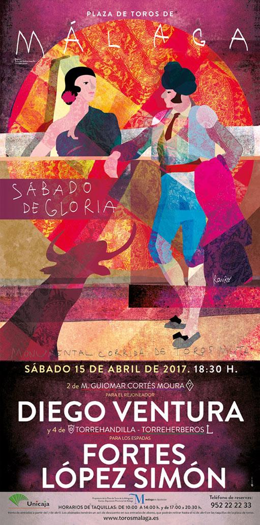 Cartel de la Feria de Málaga 2017