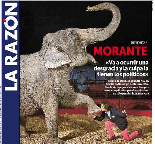 NOTICIAS En la portada de La Razón