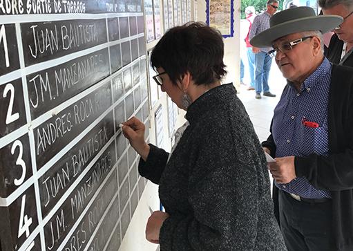 SORTEO ARLES Bautista, Manzanares y Roca Rey