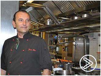 REPORTAJE Javier Rico, jefe de cocina del Colón