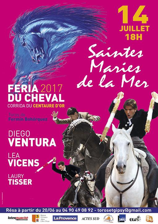 cartel Saintes Maries de la Mer 2017