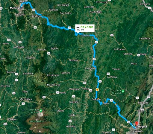 NOTICIAS La ruta que hará Roca Rey