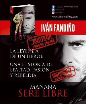Promoción segunda edición libro Iván Fandiño