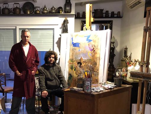 NOTICIAS Obra el pintor Pascual de Cabo