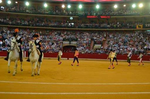 Zaragoza paseillo