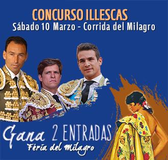 CONCURSOS Illescas te lleva gratis a los toros