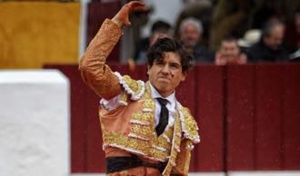 HERIDOS El mexicano fue corneado en Olivenza