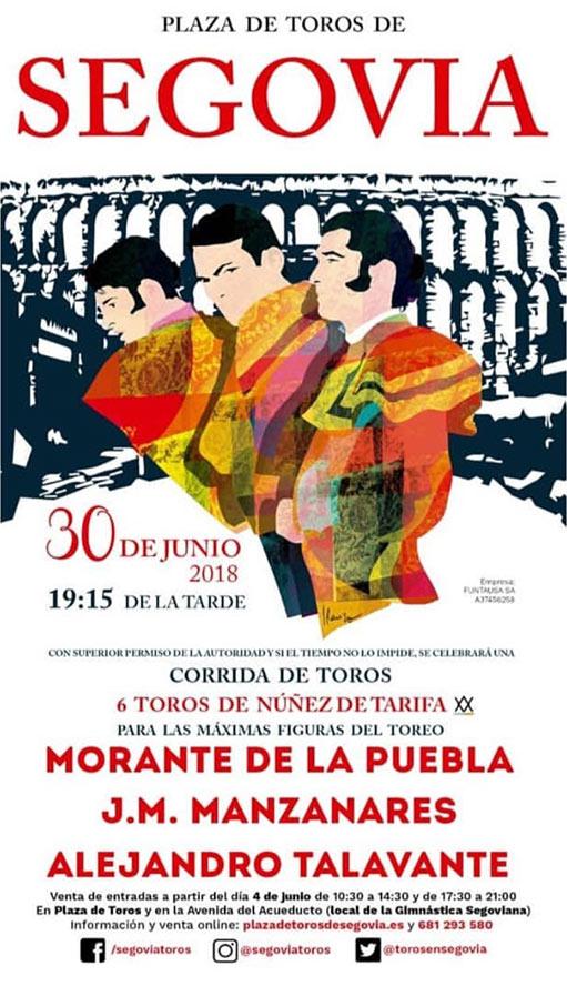 Toros en Segovia 2018
