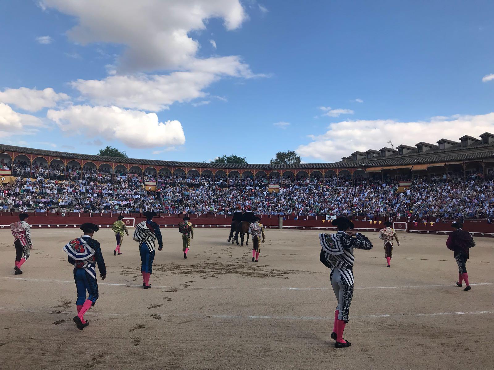 SORTEO TOLEDO Toros de Alcurrucén