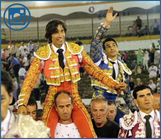 LINARES Curro Díaz y Manzanares, en hombros