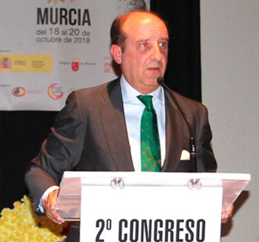 NOTICIAS Durante su ponencia en Murcia