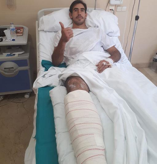 HERIDOS De la fractura sufrida en Las Ventas