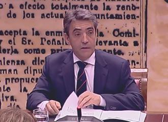 ACTUALIDAD Victorino, en El Senado