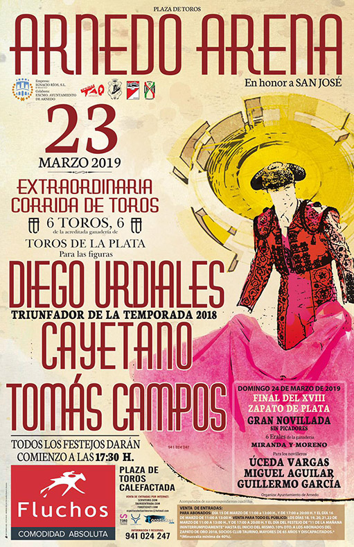 Plaza de toros de Arnedo 23 Marzo 2019