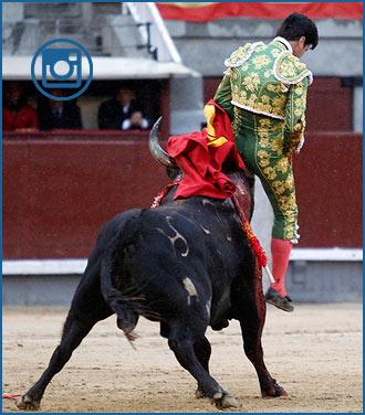 SECUENCIA FOTOGRÁFICA del percance a Miguel Maestro